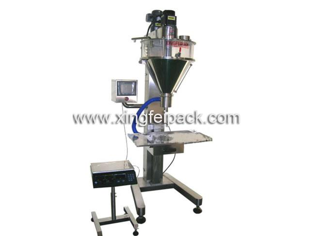 Semi Automatic Powder Filling and Packing Machine