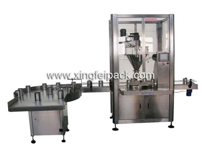 Automatic Powder Filling and Packing Machine