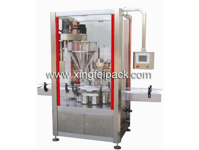 Automatic Two Auger Head Powder Filling Machine